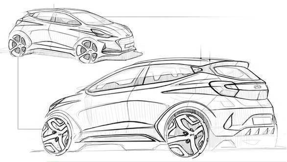 Image gallery: Hyundai Grand i10 NIOS Design Sketches