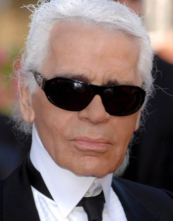 You're Karl Lagerfeld