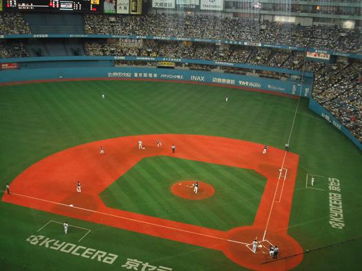 ★写真撮影会社ALIAの社長【Mark BLOG】-野球観戦「京セラドーム」