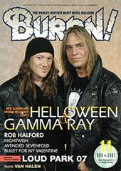 BURRN!2007年11月号