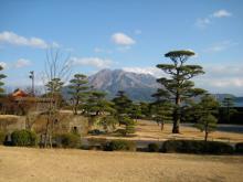 アーデン男爵blog-仙巌園(磯庭園)と桜島