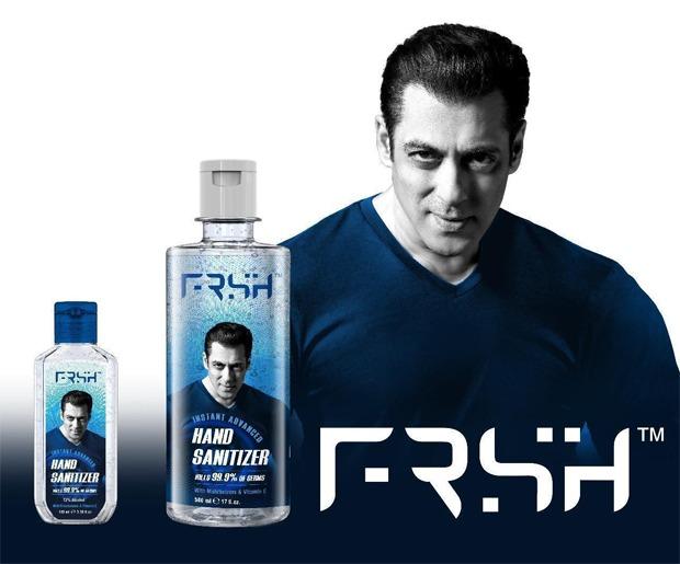 सलमान खान ने ईद 2020 पर अपना पर्सनल केयर ब्रांड FRSH लॉन्च किया