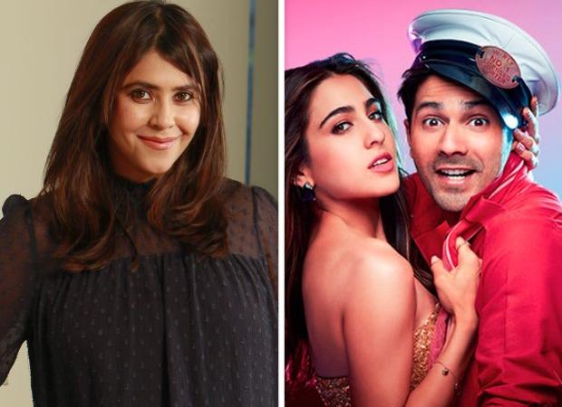 BREAKING: Ekta Kapoor buys distribution rights of Varun Dhawan – Sara Ali Khan's Coolie No. 1 for Rs 50 crore : Bollywood News – Bollywood Hungama