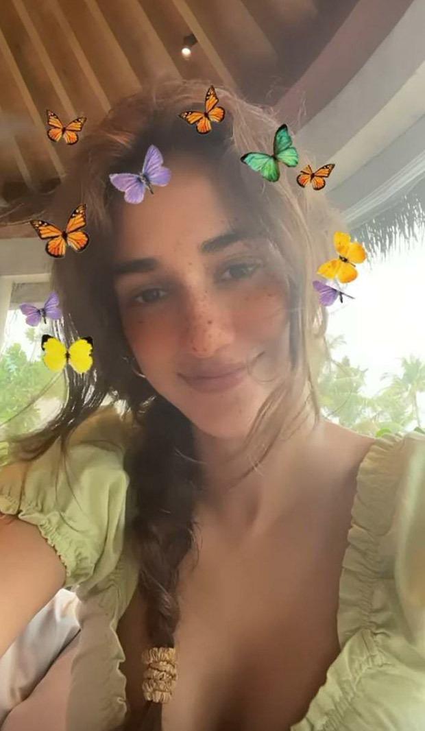 Disha Patani is a beach babe during her Maldives vacation