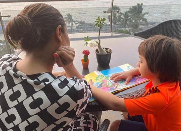 Gauri Khan shares picture of AbRam Khan reading Karan Johar's book 'The Big Thoughts of Little Luv'