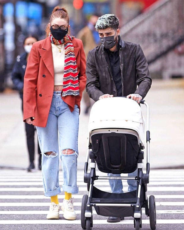 Zayn Malik and Gigi Hadid make their first public appearance in over a year with their daughter Khai in New York City : Bollywood News Moviesflix - MoviesFlix | Movies Flix - moviesflixpro.org, moviesflix , moviesflix pro, movies flix