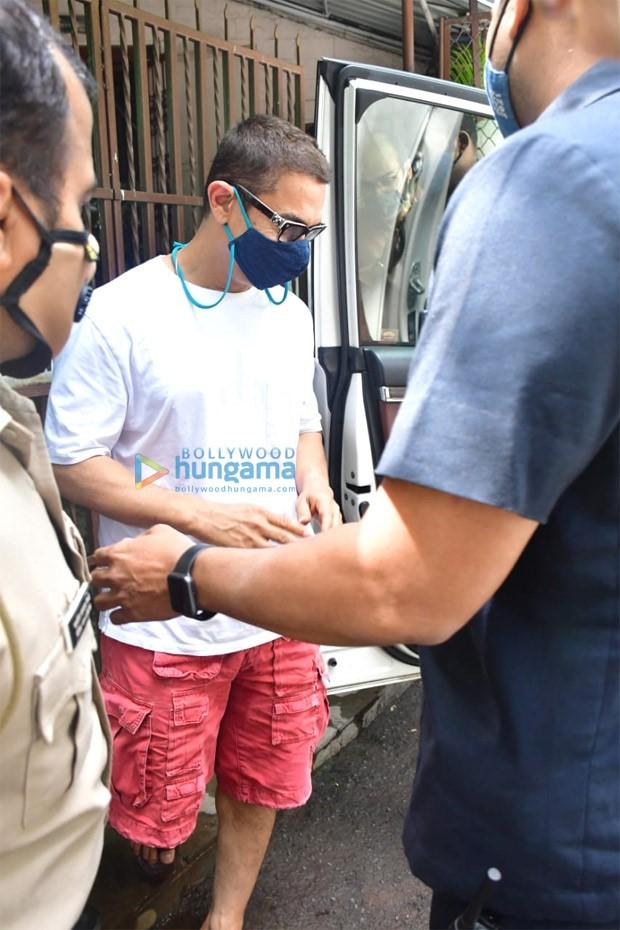 Aamir Khan sports a new haircut, is it for Laal Singh Chaddha?
