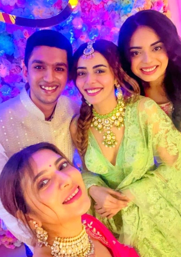 Divya Drishti actress Sana Sayyad stuns in green lehenga for her mehendi ceremony ahead of her wedding with Imaad Shamsi