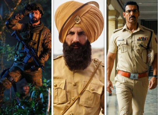 Independence Day 2019: From Vicky Kaushal to Akshay Kumar to John Abraham, here are all the stars who have been a part of patriotic movies this year