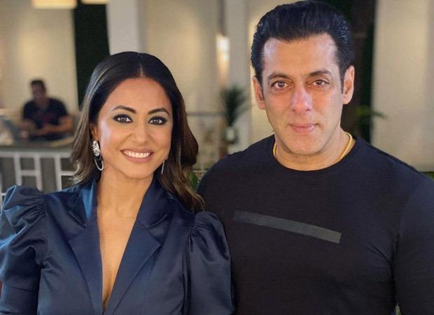Bigg Boss 14: Hina Khan asks Salman Khan about his marriage;  He reacted like that