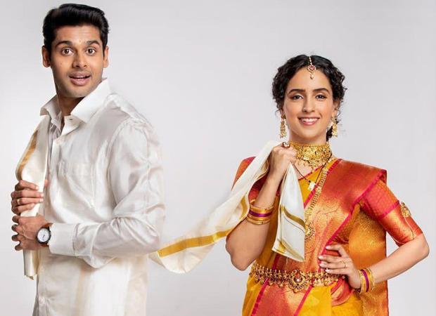 सान्या मल्होत्रा और अभिमन्यु दासानी आगामी नेटफ्लिक्स फिल्म मीनाक्षी सुंदरेश्वर में अभिनय करने के लिए, अपना पहला लुक देखें
