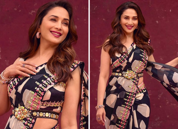 Madhuri Dixit looks radiant and graceful in Rs. 72,800 georgette saree as she kicks off new season of Dance Deewane : Bollywood News – Bollywood Hungama