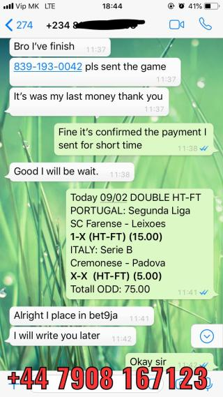 double fixed matches ht ft