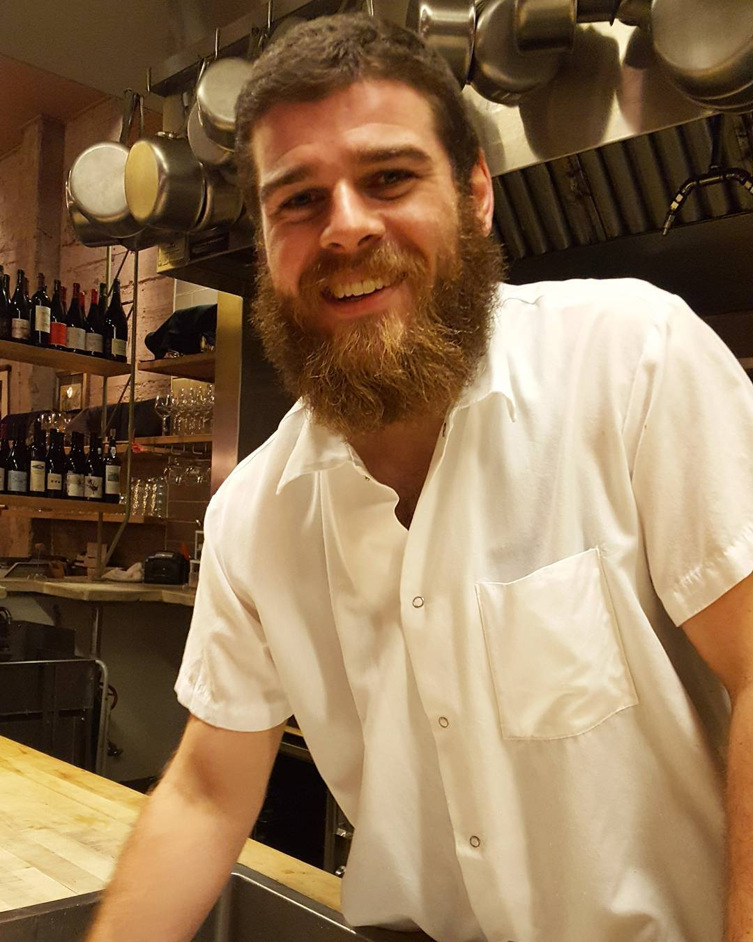 Very excited to introduce Harrison line cook turned sous chef!hellip