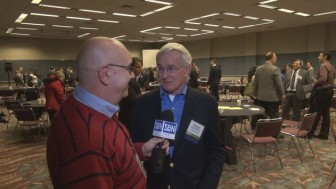 Steve Lubetkin with former Pittsburgh Mayor Thomas Murphy.