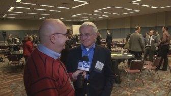 Steve Lubetkin with former Pittsburgh Mayor Thomas Murphy.