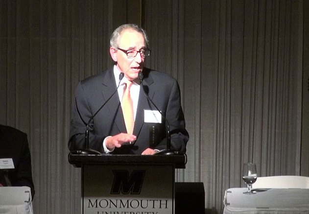 Murray Kushner speaking at the Kislak Real Estate Institute Dinner (State Broadcast News/Steve Lubetkin photo)