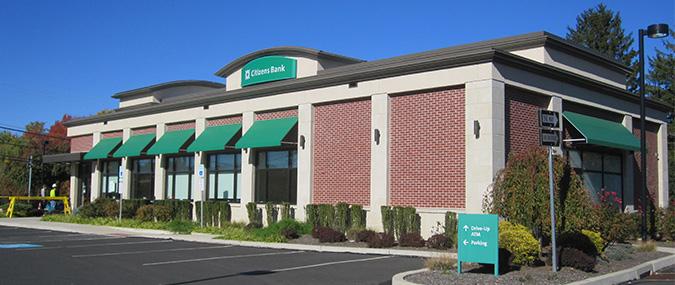 Citizens Bank branch, 822 Welsh Road, Horsham, PA