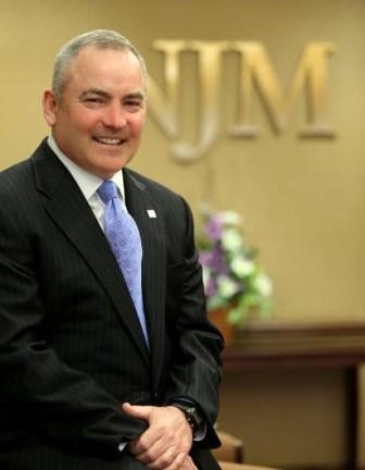 Bernie Flynn, retiring president and CEO, NJM Insurance Group