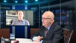 Michael Novak, president of Atlantic Environmental Solutions, Hoboken, NJ, in TV interview with SBN's Steve Lubetkin