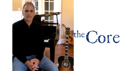Philadelphia songwriter-producer Joe Zahm, founder of WeAreTheCore.org, a new website promoting civil discussions aimed at preserving democratic values