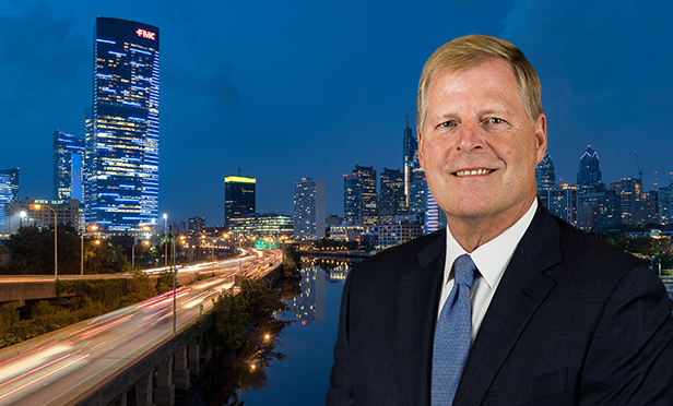 David Fahey, principal and managing director of Avison Young's Philadelphia office (Photo composite)