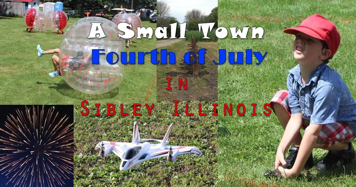 Small Town Fourth Of July Pin