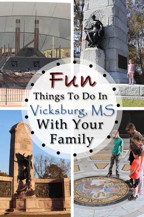 Fun Things to do in Vicksburg, MS with your family