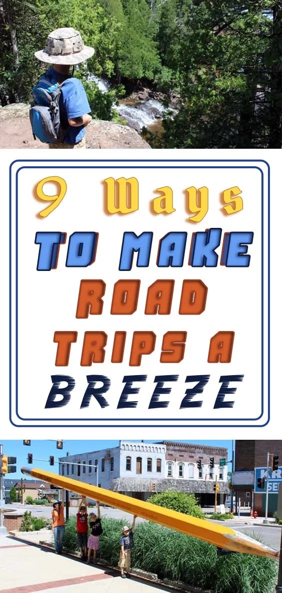 Planning a Family Vacation: 9 Ways to Make Road Trips a Breeze Pin