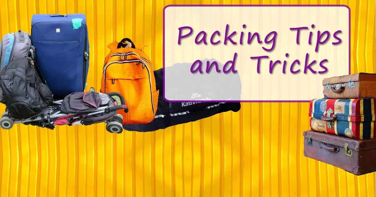 13 Amazing Packing Tips and Tricks