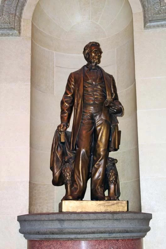 Another statue of Lincoln in the land of Lincoln.