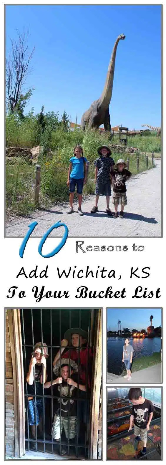 10 Reasons to Add Wichita to your family bucket list