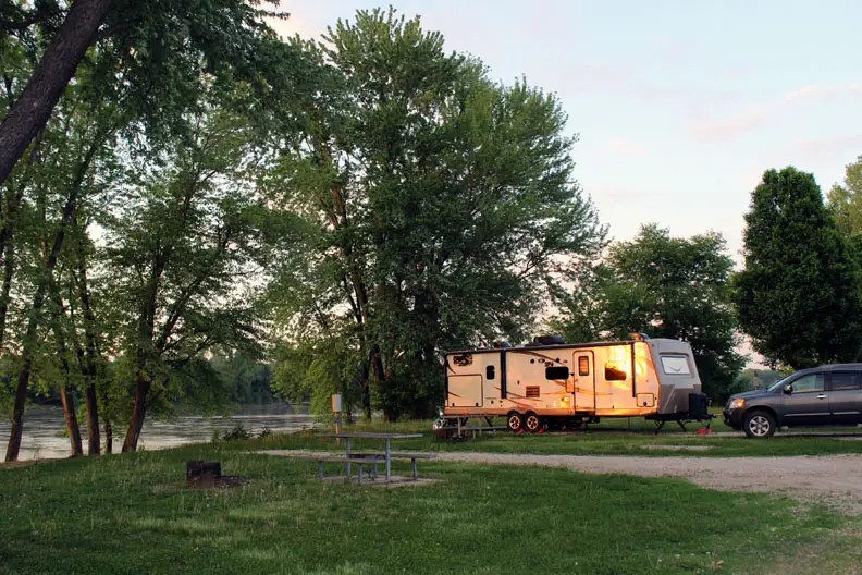 There is definitely good camping in Missouri.