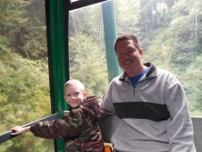 boys in the gondola