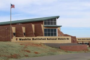 The National Park Visitor center at Washita