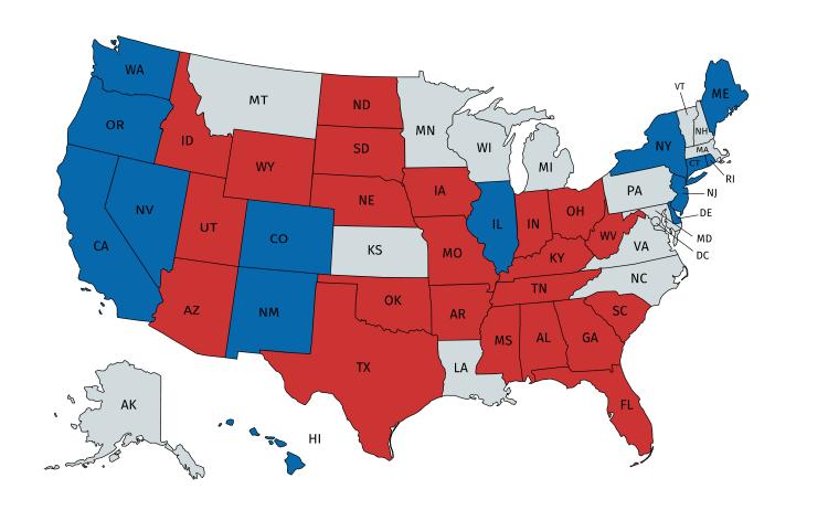 Legislative Update: State Trifectas