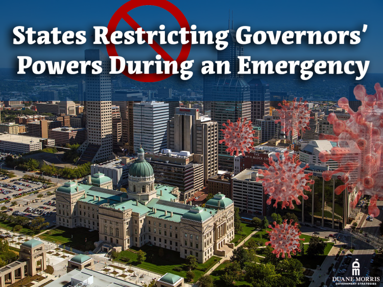 Legislation Restricting Governors' Powers During an Emergency