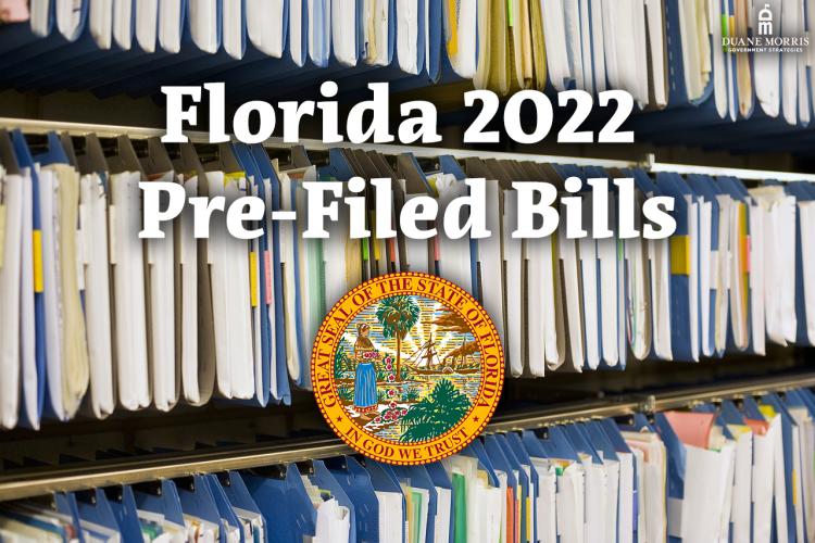 Florida 2022 Pre-Filed Bills