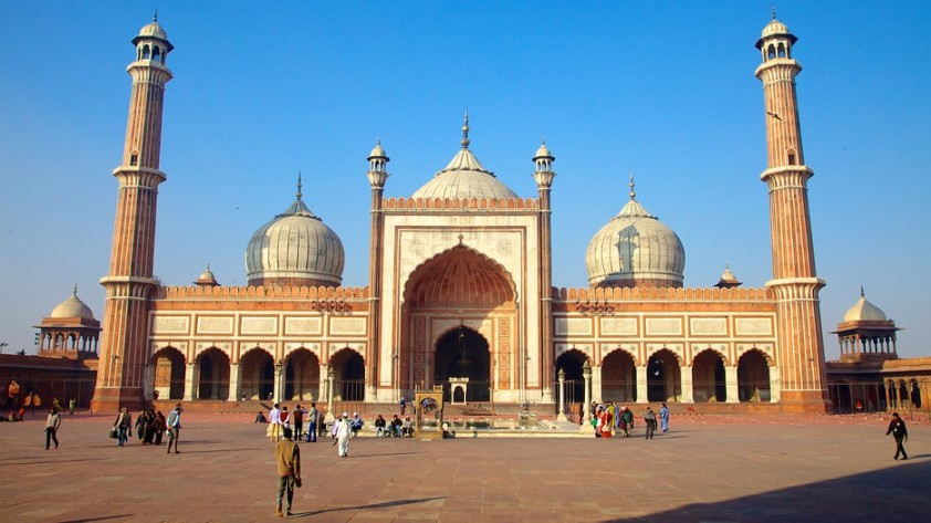 Jama Masjid, Delhi - most beautiful mosque in India