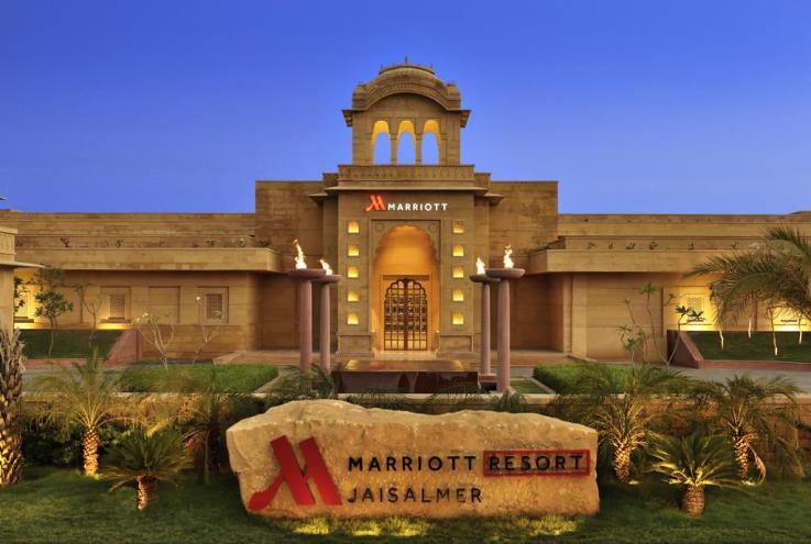 Wedding Venue Jaisalmer Marriott Resort And Spa