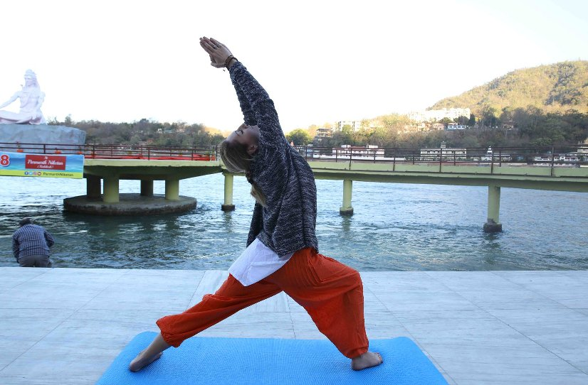 Yoga at Parmarth Niketan Rishikesh
