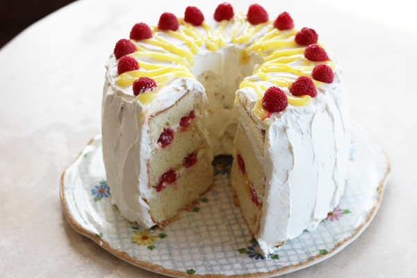 Lemon Raspberry Chiffon Cake Recipe State Fair Recipes