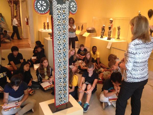 Fine Arts Museum Bringing Students Ancient Worlds