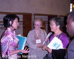 写真:難民支援NGOの年次協議会