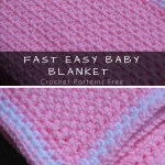 Easy And Fast Pink Baby Blanket 10 Styles Idea
