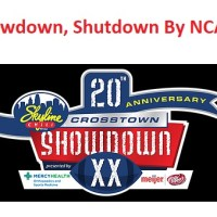 Showdown, Shutdown By NCAA