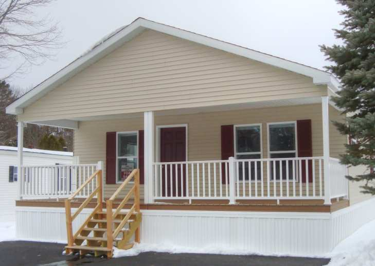 8'x28' Front Covered Porch