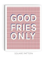 09-Drop Shadow Good Fries_01 Quote Poster Mock-ups