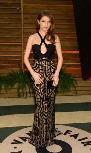 Anna Kendrick attends the 2014 Vanity Fair Oscar Party, on Sunday, March 2, 2014, in West Hollywood, Calif. (Photo by Evan Agostini/Invision/AP)
