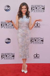 arrives at the 2014 American Music Awards at Nokia Theatre L.A. Live on November 23, 2014 in Los Angeles, California.